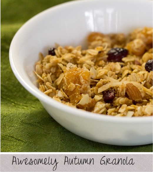 Awesomely Autumn Granola