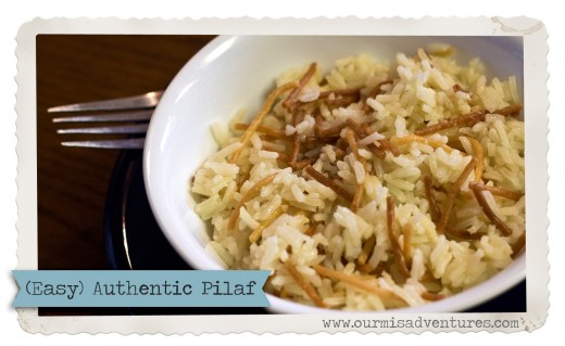 Easy Authentic Pilaf