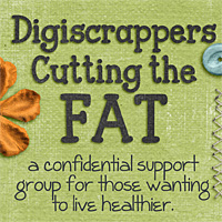 Digiscrappers Cutting the Fat!