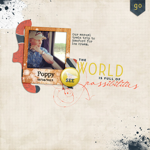 Template: Page For Pops by Our Misadventures (fan page freebie) Frame: Wood Ya Wood Ya by The Edits Kit: Wide World by The Edits