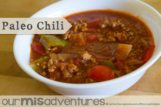 Super Easy Paleo Chili