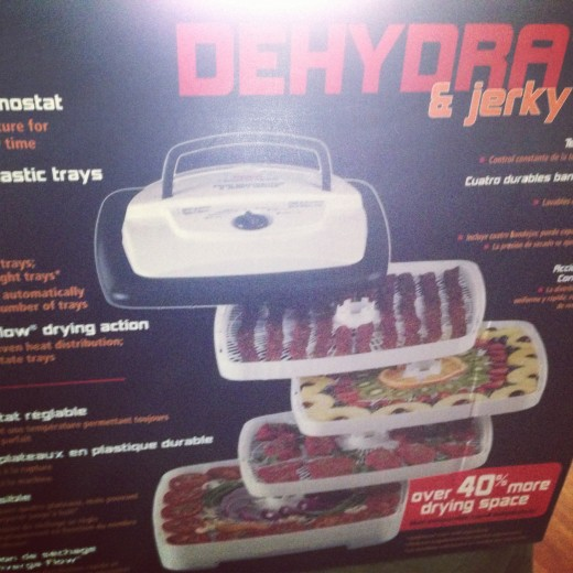Dehydrator for making beef jerkey