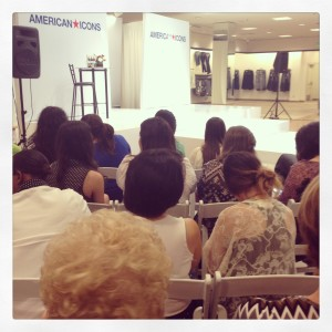 Waiting to see Clinton Kelly at Macy's