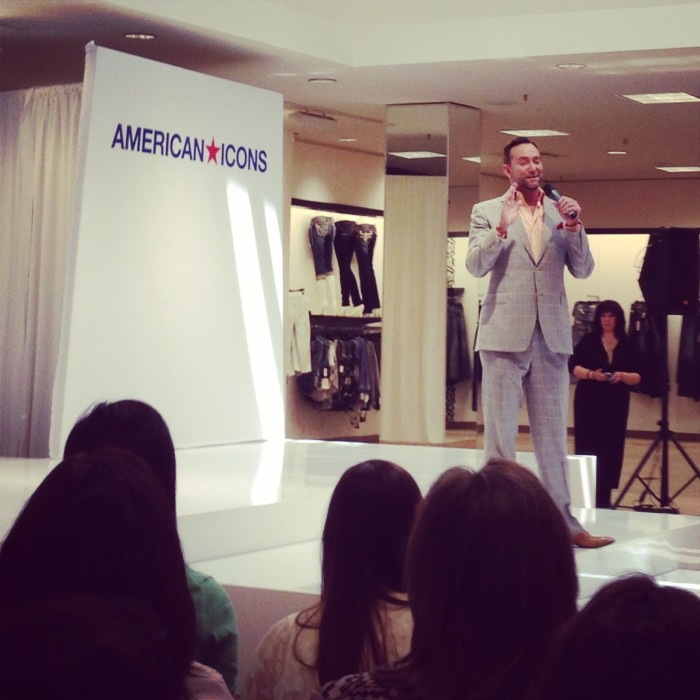 Clinton Kelly at Macy's