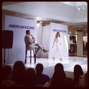 Clinton Kelly Hosting a fashion show at Macys
