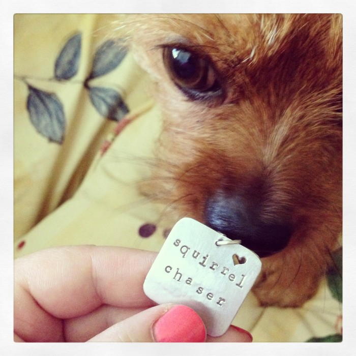 Dog tag from lofted designs
