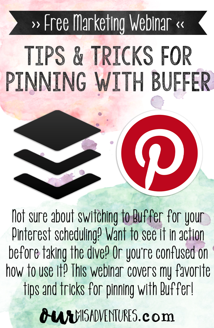 Not sure about switching to Buffer for your Pinterest scheduling? Want to see it in action before taking the dive? Or you're confused on how to use it? This webinar covers it all!